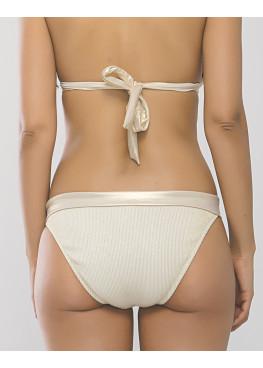 Дамски златист бански костюм с подплънки New Silhouette 8666