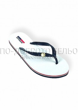 Дамски джапанки New Silhouette 9361 в бял цвят