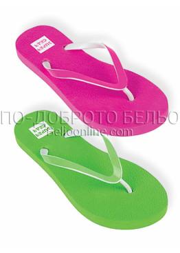 Дамски джапанки New Silhouette 9476 в електриково розово или зелено