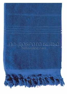 Плажна хавлия в  6200 в тъмно син цвят