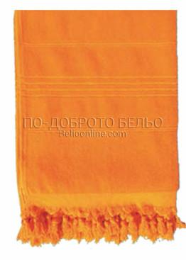 Плажна хавлия в  6201 в оранжев цвят