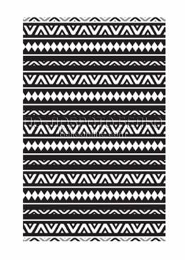 Стилна голяма хавлия за плаж в черно и бяло 6195