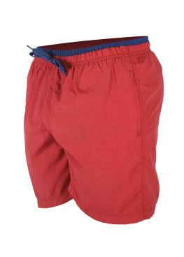 Червени мъжки плажни шорти New Silhouette 6340