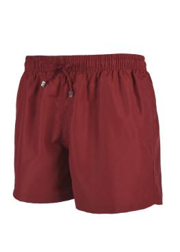 Мъжки плажни шорти New Silhouette 6436 бордо