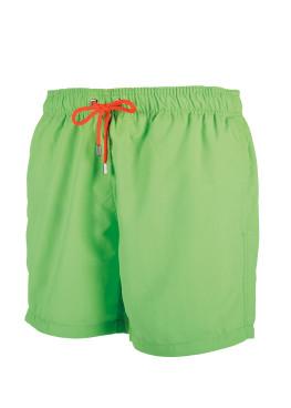 Мъжки плажни шорти New Silhouette 6436 зелен