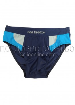 Мъжки бански слип Спико в синьо