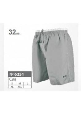 New Silhouette Мъжки шорти за плаж 6251 сиви