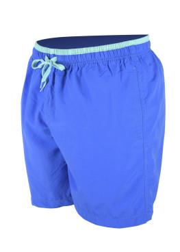 Сини мъжки плажни шорти New Silhouette 6340