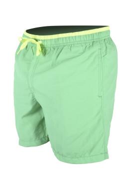 Зелени мъжки плажни шорти New Silhouette 6340