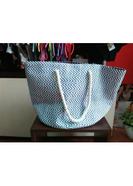 Плажна чанта 2015 синя