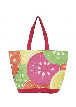 Плажна чанта 9273 Tropical с лимонови резенчета