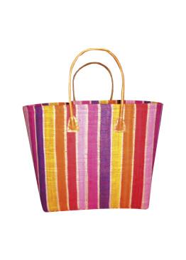 Плажна чанта 9275 шарено цветно райе Le Comptoir De La Plage
