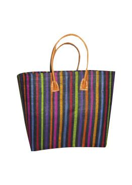 Плажна чанта 9275 шарено райе Le Comptoir De La Plage