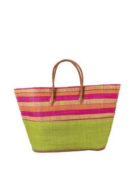 Плажна чанта 9286 зелен Le Comptoir De La Plage