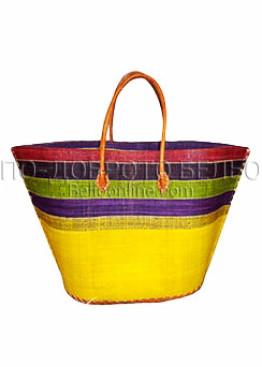 Плажна чанта 9286 жълт Le Comptoir De La Plage