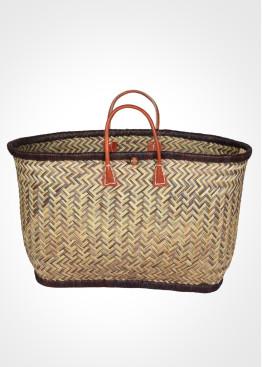 Плажна плетена кошница 9456 Le Comptoir De La Plage