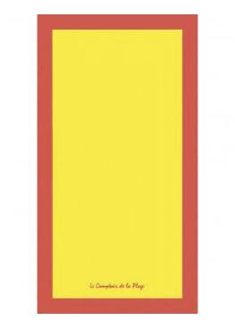 Хавлия за плаж 9224 в жълто Le Comptoir De La Plage