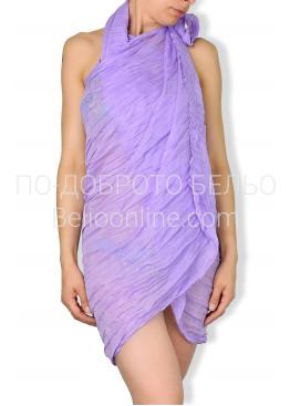 Парео в лилав цвят 6442