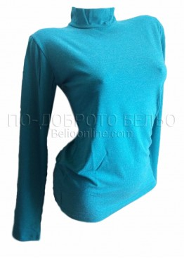 Дамска блуза от фина вълна с дълъг ръкав 4092