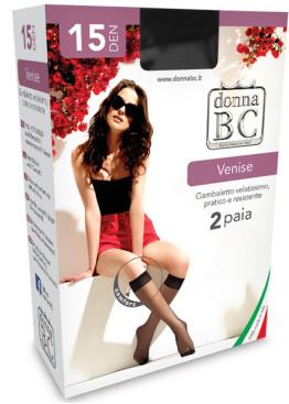 3/4 чорапи Donna BC Venise 15 2бр.