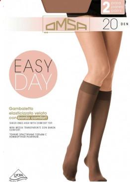 3/4 чорапи с ликра Omsa Easy Day 20 2бр,