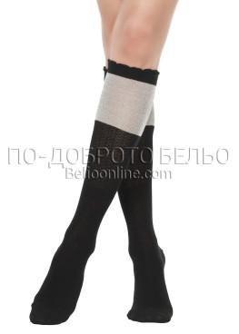 3/4 дамски чорапи Pompea Cavezzo bordeaux