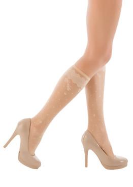 Дамски фигурални 3/4 чорапи Penti Milla