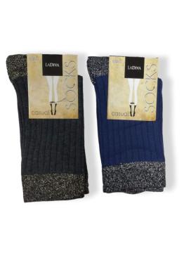 Дамски къси чорапи с брукат La Diva 7536