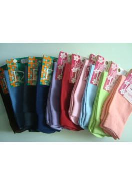 Дамски къси памучни чорапи Дерби