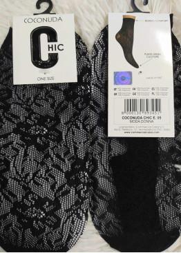 Дамски мрежести фигурални къси чорапи Coconuda E05