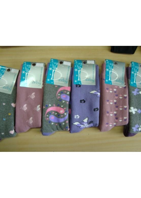 Дамски термо памучни чорапи Derby!
