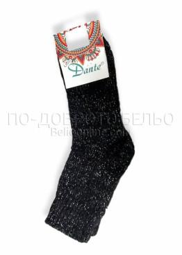 Дамски топли чорапи с ламе Dante 7547
