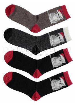 Дамски вълнени чорапи 7451
