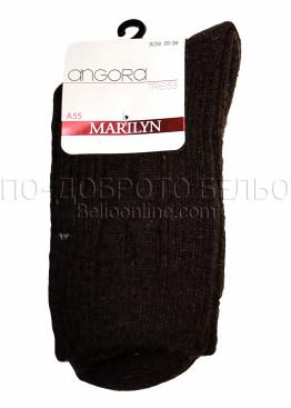 Дамски вълнени зимни чорапи Marilyn 7233 в кафяв цвят