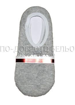 Дамски вълнени зимни чорапи терлик Marilyn 7215 в сив цвят с перлички