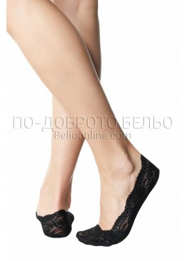 Дантелени чорапи терлик Pompea 7134