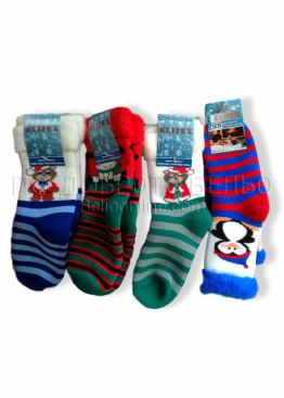Детски коледни чорапи 7462