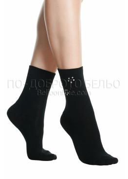 Къси дамски чорапи с камъчета Pompea Crispo