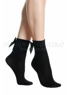 Къси дамски чорапи  с панделка Pompea Chic