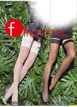 Луксозни фигурални силиконови чорапи мрежа Franzoni Abelia