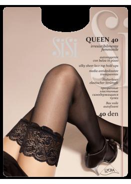 Луксозни силиконови чорапи SISI QUEEN 40
