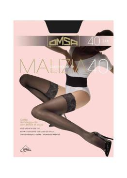 Силиконови чорапи Omsa  Malizia 40