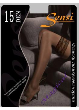 Силиконови  чорапи Sensi  Romance 15den