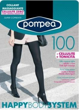 Антицелулитен чорапогащник POMPEA  100den HBS