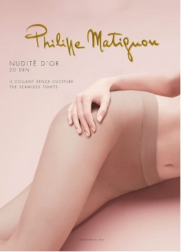 Безшевен  чорапогащник Philippe Matignon NUDITE D'OR 20