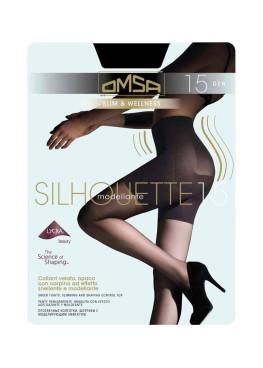 Чорапогащи със стягащ колан Omsa  Silhouette 15