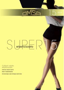 Чорапогащник с ликра Omsa Super 15