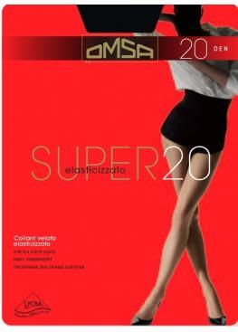 Чорапогащник с ликра OMSA Super 20