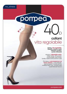 Чорапогащник с регулираща се талия Pompea Vita Regolable 40den