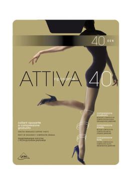 Чорапогащник със стягащ и масажиращ  ефект Omsa Attiva 40
